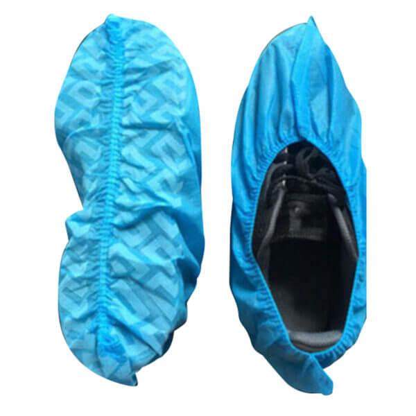 Sko overtræk blå futter
