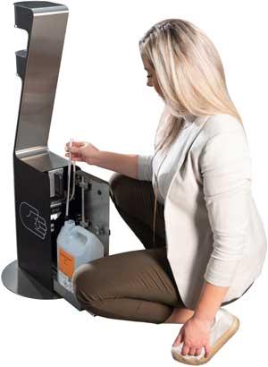 Spar 40.000 kr. om året med Zenzation dispensere