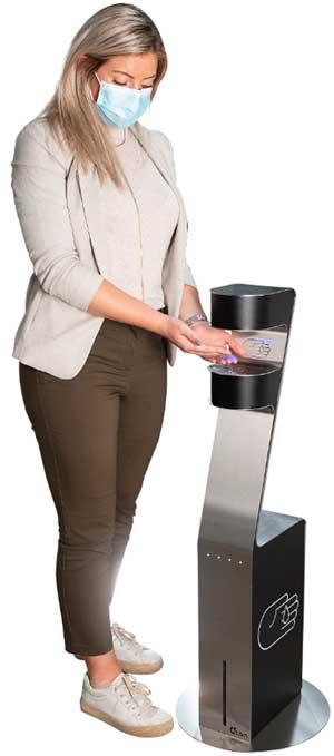 Zenzation håndsprit dispenser - En berøringsfri spritstander til 5 liter sprit