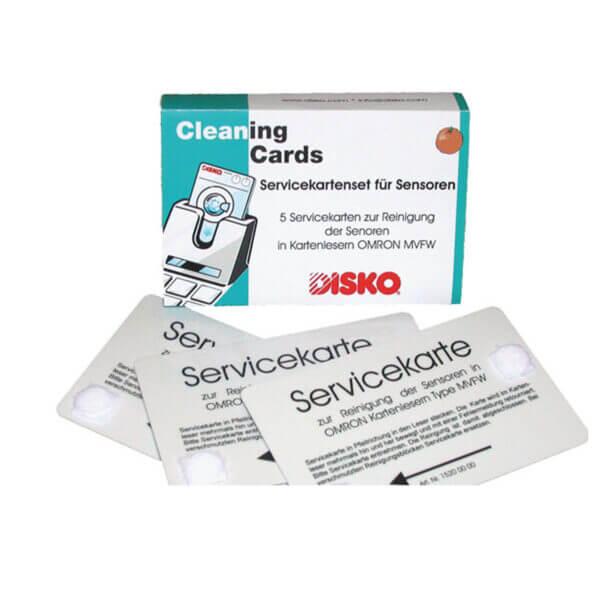 Servicekort til rensning af sensore